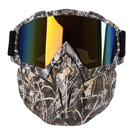 KOBWA - Gafas de sol para motocicleta, resistente al viento ...