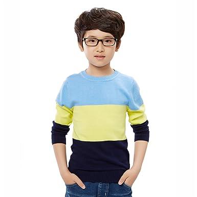 Smilun Xmas Sweater Kids Boys Unisex Classic Cotton Christmas Cardigan  Sweater BYB 110