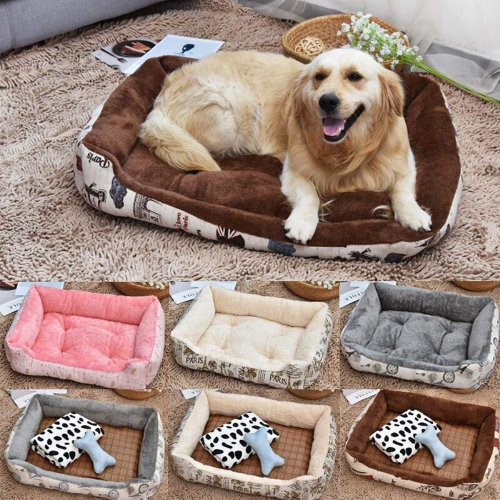 Amazon.com : Vivian Inc Beds & Furniture - Hot Dog Pet Bed Design Soft Warm Fleece Pet Nest House Sofa for Small Dogs Large Dogs (Grey, 90x70x15cm) : Pet ...