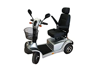 AIREL Scooter Mobility con Luces | Scooter Minusválidos | Vehículo De Movilidad | Moto Minusválidos | Moto Para Personas Mayores | Mobility Scooter: ...