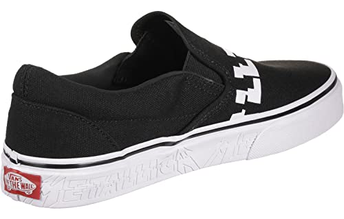 Vans Metallica Slip-On (42.5, Negro): Amazon.es: Zapatos y ...