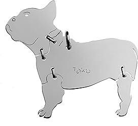 FRANZÖSISCHE BULLDOGGE Hunde Tier-Anhänger Medium 925 Sterling Silber Charm Schmuck 049CM