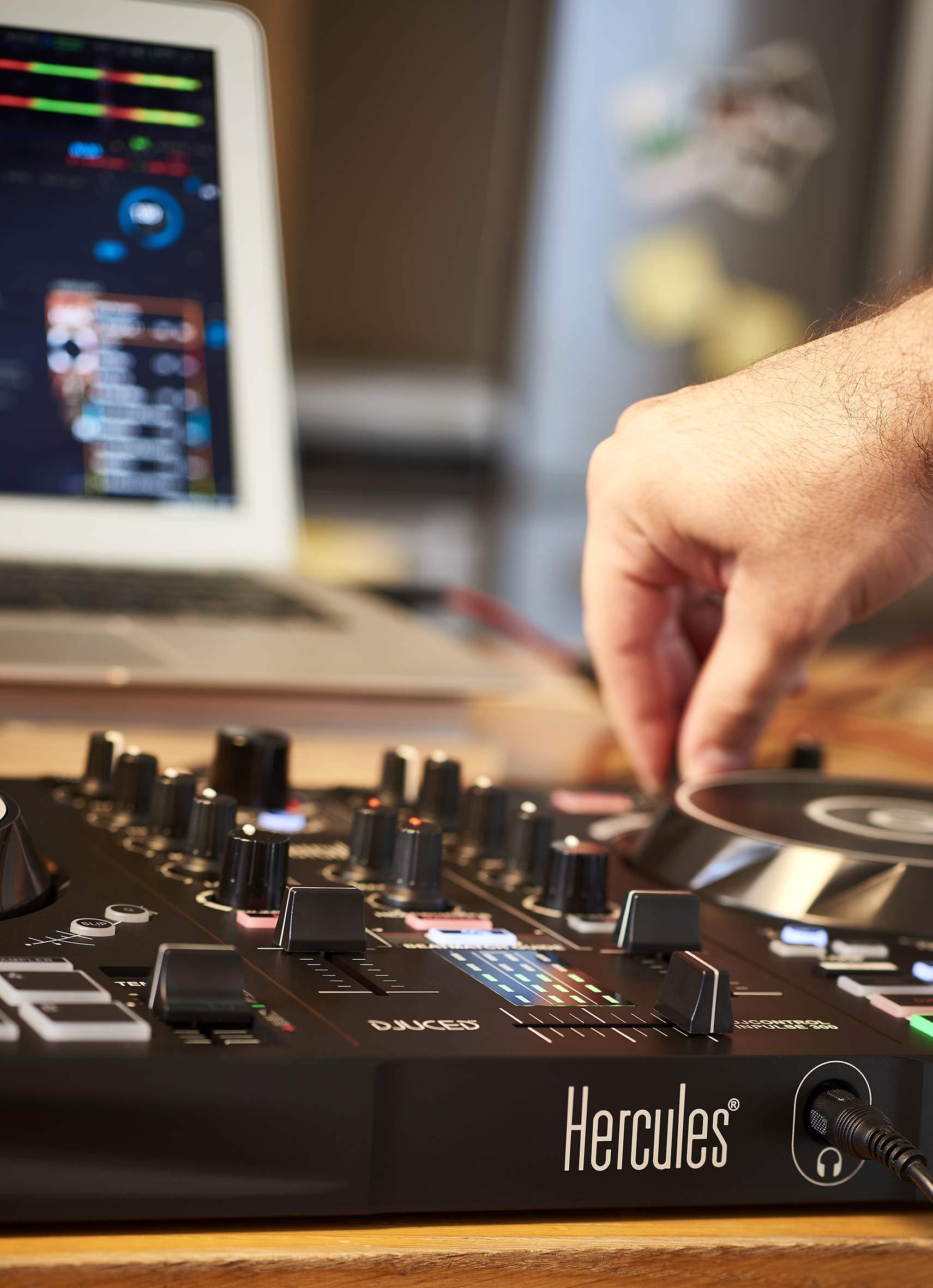 Hercules DJ Control Inpulse 300 (AMS-DJC-INPULSE-300) by Hercules DJ (Image #9)