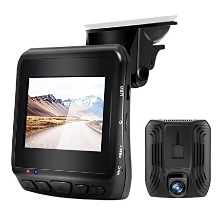 Car DVR Dash Cam 2.4 with Built-in GPS Parking Monitoring Full HD 1080P Front Wide Angle Camera Model DAB211