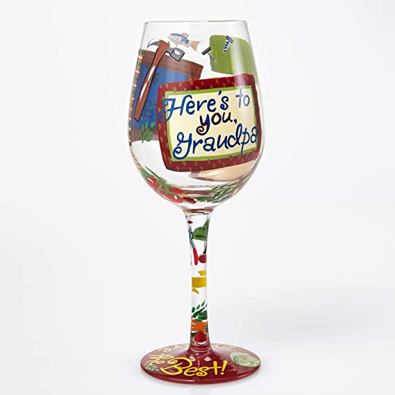 Lolita familia abridor de botella de vino de cristal con Westwood Gourmet #1 Grandpa: Amazon.es: Hogar