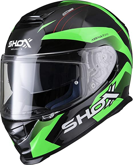 Shox Assault Evo Recoil Motorcycle Helmet