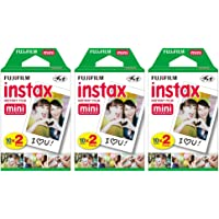 $37 » Fujifilm Instax Mini Instant Film (3 Twin Packs, 60 Total Pictures) for Instax Cameras
