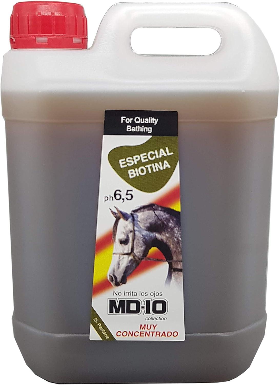 MD-10 Champú específico para Caballos con Biotina (2 L)