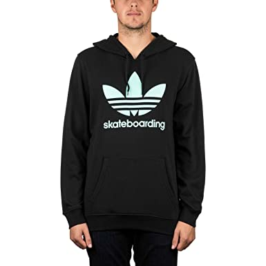 bc0ada74 adidas Clima 3.0 Pullover Hood Black/Ice Green L: Amazon.co.uk: Clothing