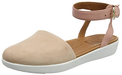 d9fcb9f2a fitflop Womens Cova Closed-Toe Toning Strap Sandals  Amazon.ca ...