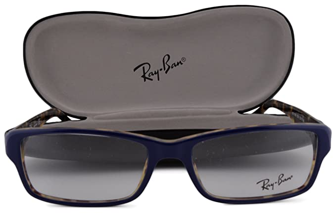 4918fb378c Image Unavailable. Image not available for. Colour  Ray Ban RX5169  Eyeglasses 52-16-140 Blue Tortoise 5219 RB5169