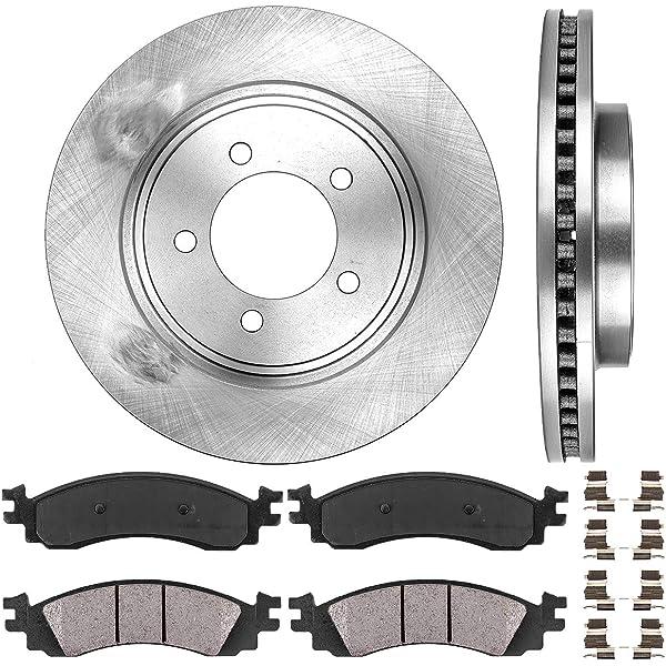 Front /& Rear Ceramic Brake Pads 2 Set Kit For 06-10 Ford Explorer Mountaineer