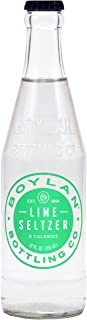 product image for Boylan Bottling Seltzer, Lime, 12 oz (24 Glass Bottles)