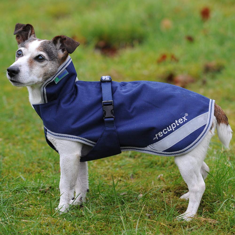 Bucas Recuptex Dog Jacket 30cm Navy