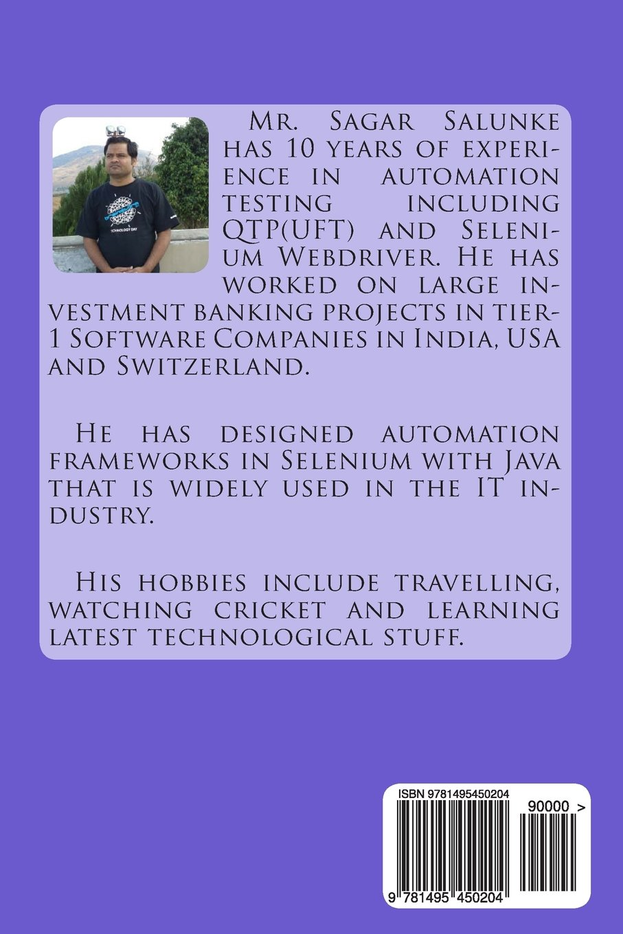 Buy Selenium Webdriver in Java: Learn With Examples Book