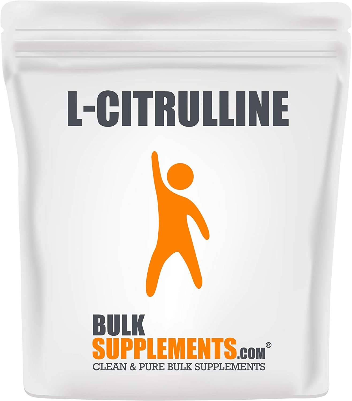 BulkSupplements.com L-Citrulline Powder - Unflavored Pre-Workout - Citrulline Supplement (500 Grams)