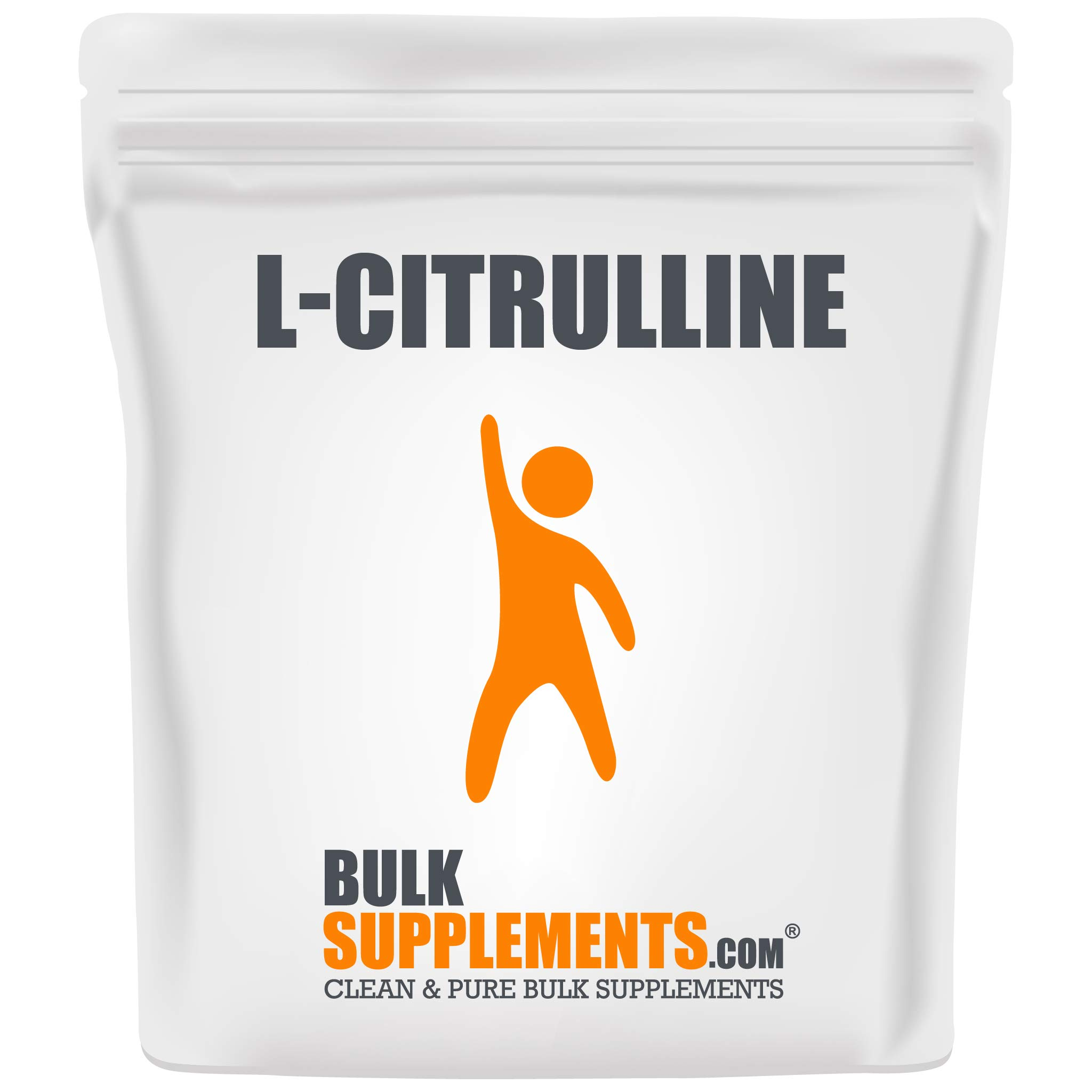BulkSupplements.com L-Citrulline Powder - Unflavored Pre-Workout - Citrulline Supplement (500 Grams)