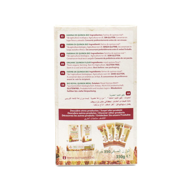 Harina de quinoa real BIO/FAIR TRADE - Quinua Real - 350 g: Amazon ...