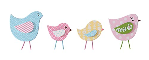 Sadie Scout Chelsea – Four Piece Bird Wall D cor