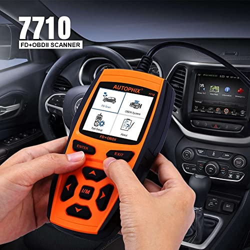 Autophix 7710 is the best Ford scan tool you can choose