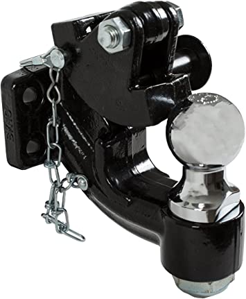 Buyers Products 10057 10-Ton Mount Combination Hitch with 2-5//16 Inch Ball