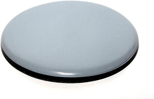 4 Teflon-Möbelgleiter Ø 80 mm selbstklebend PTFE Möbelgleiter Gleiter