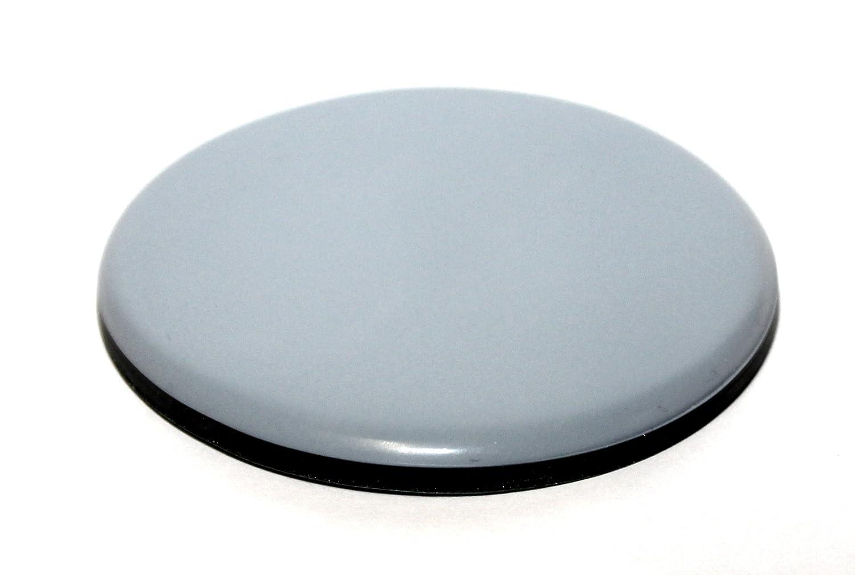 rond 12 x Patin glisseur en teflon autoadh/ésif 50 mm patins pour chaises et autre meubles