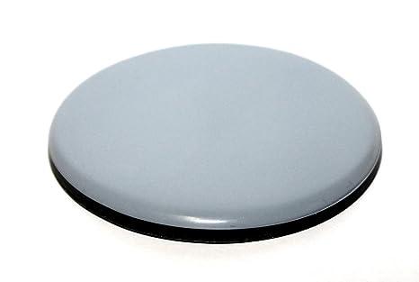 8x Teflon-Möbelgleiter 80 mm rund selbstklebend 5 mm dick pfte Teflongleiter Gleiter f. Stühle u. Schränke f. Parkett u. Flie