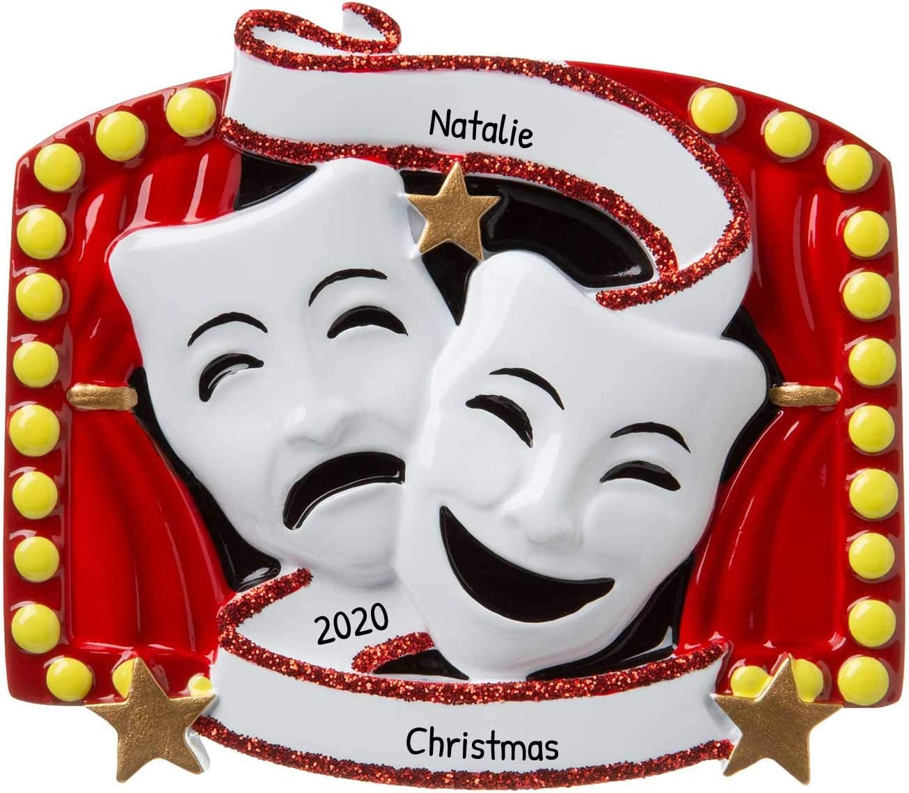 Christmas Comedy Show 2020 Amazon.com: Personalized New Theater Christmas Tree Ornament 2020