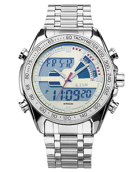 JSDDE Reloj Hombres Reloj niño pila reloj gruesa reloj relojes aleación Relojes Junior cuarzo Analogue