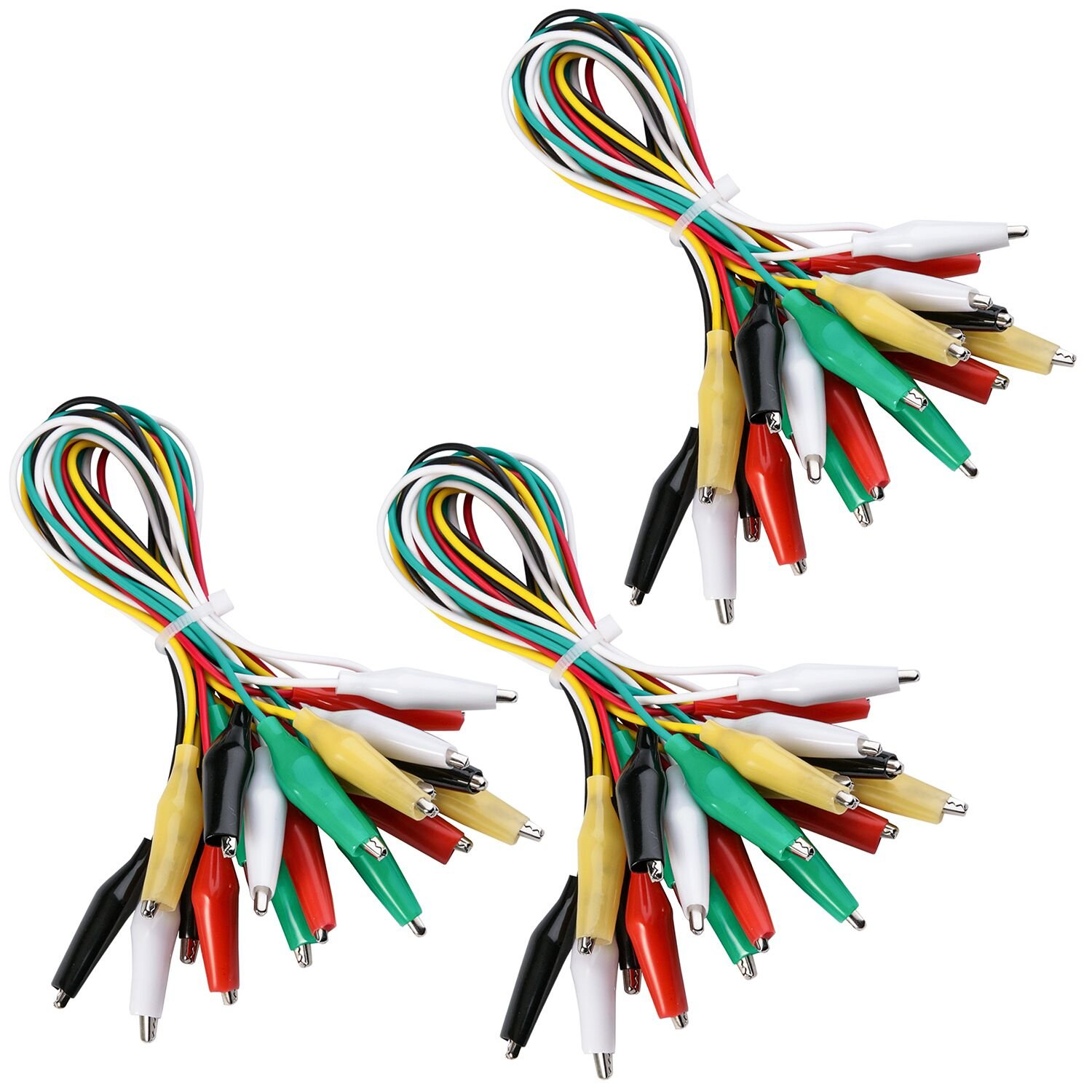 Heavy Duty Commercial Vehicles Parts 2013 Dodge 3500 Trailer 7 Pin Wiring Alligator Clip Test Leads Elegoo 30 Pcs Set With Clips