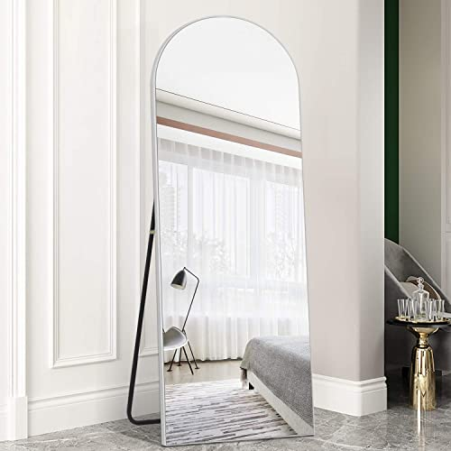 PexFix Arched-Top Standing Mirror Wall Mirror Handing Standing or Leaning Full Length Mirror Floor Mirror
