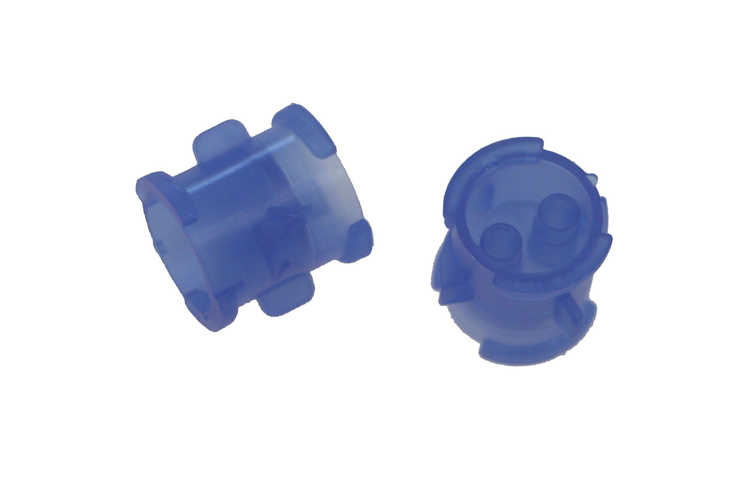 Affordable Dental Products 72L Lock-N-Reload 50ml Dental PVS Impression Cartridge Coupler, Blue (Pack of 20)