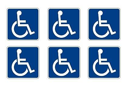 Amazon Disabled Wheelchair Symbol Ada Compliant Handicap