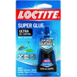 Henkel-Loctite 1363589 4 Gram Super Glue Ultra Gel Control, Clear (4-Pack)