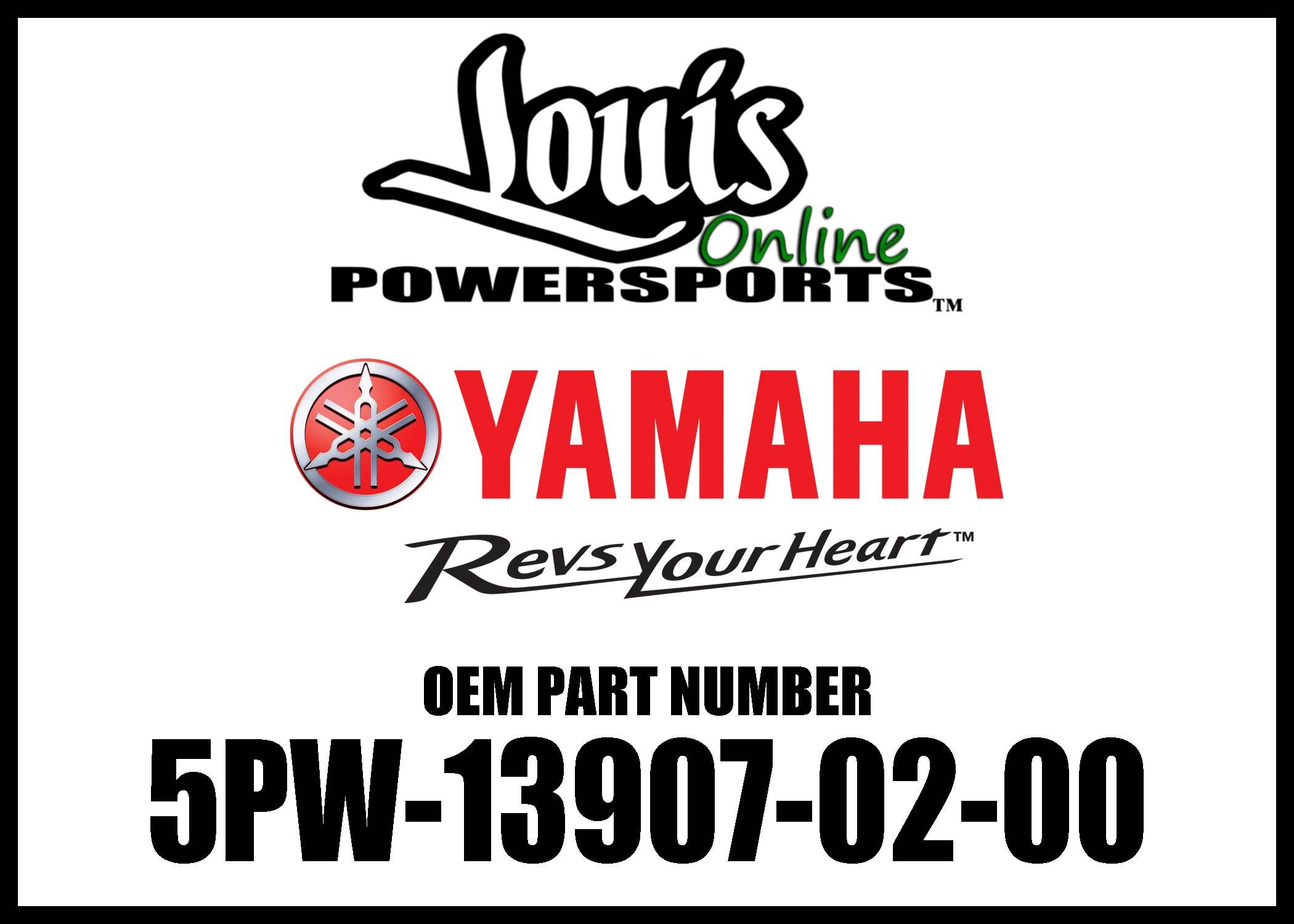 Yamaha 5PW-13907-02-00 Fuel Pump Complete; 5PW139070200 Made by Yamaha