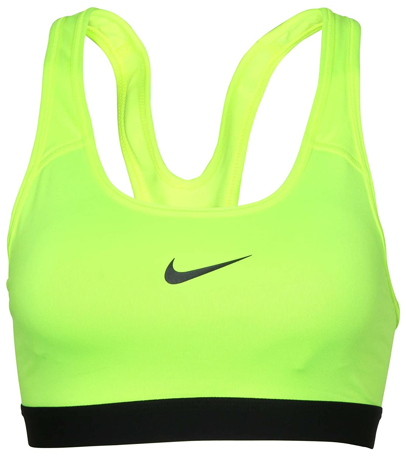 154b2c2098 100% Polyester Authentic Nike 88% Polyester  12% Spandex Dri-Fit Fabric  Light Support Machine wash