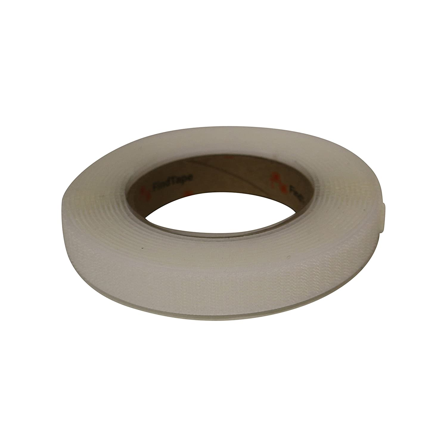 FindTape HL74-R/WHT07515H HL74-R Adhesive-Backed Hook-Side Only Rolls: 3/4' x 15 ft. / Hook-Side only, White
