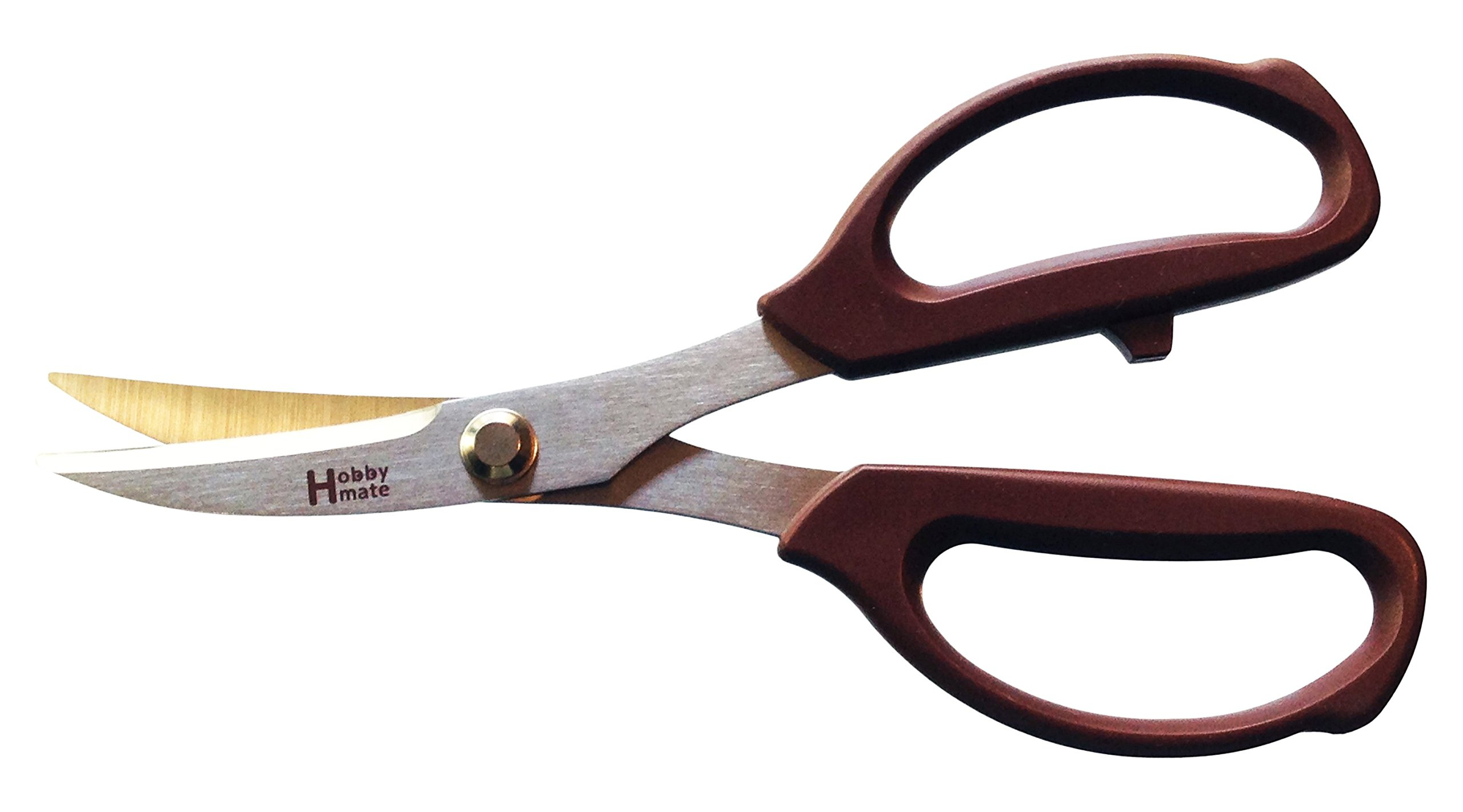 Hanada Home 77-1031 Leather Cutting Hobby Mate Scissors by Shark Corp (Image #1)