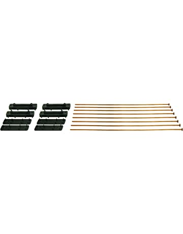 Derale 16743 Electric Fan Mounting Kit with Metal Rods