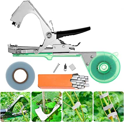 10 Roll 100 Feet x1//2/'/' Wide Garden Stretch Plant Ribbon for Plant Tying Machine