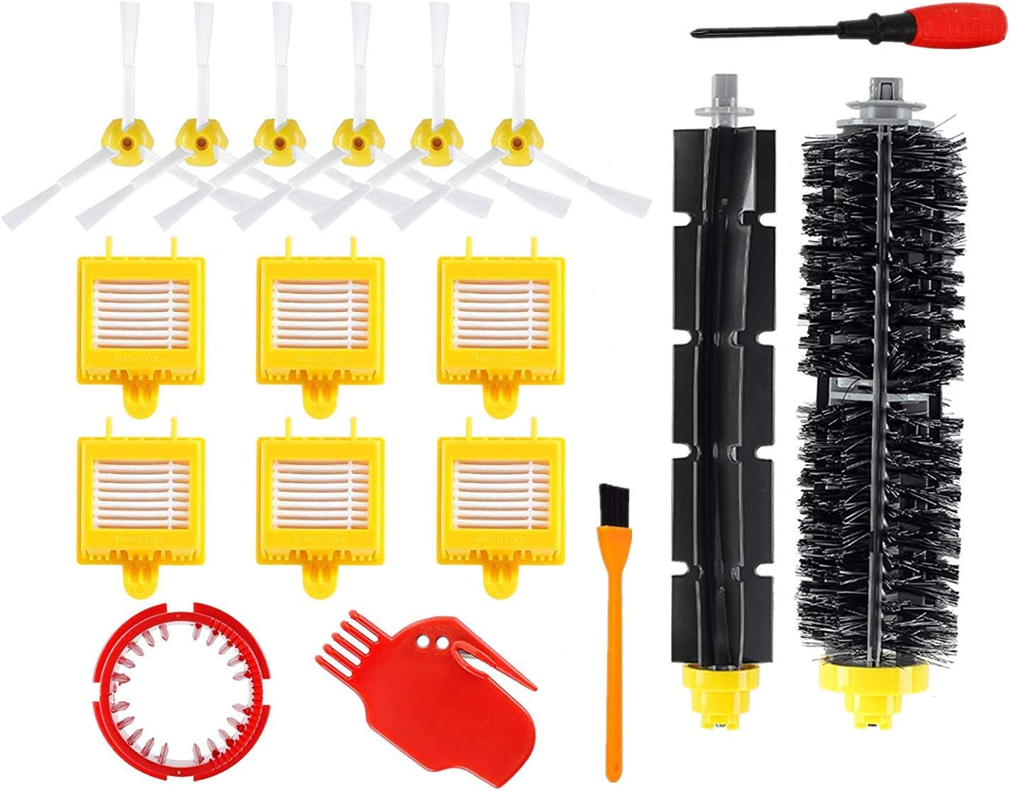 XindiHome Replacement Parts Kit for iRobot Roomba 700 760 770 780 790 Vacuum Cleaner Kit 24 Pack