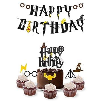 Amazon Wizard Birthday Party Supplies Set