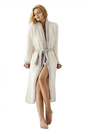 89b950cb46db 7 VEILS Womens and Mens Microfiber Knit Ultra Lite Super Soft Long Robes  Bathrobes Loungewear(