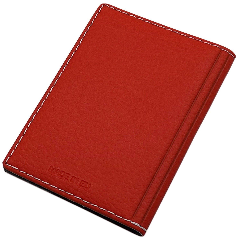 ou Sanglier Motif en Marron Sanglier Motif Cuir de Buffle Pochette de Carte didentit/é avec cerf