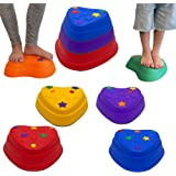 IMAGYM Stackable Stepping Stones for Kids, Balance Stepping Stones - Coordination and Stability, Perfect Indoor and Outdoor P