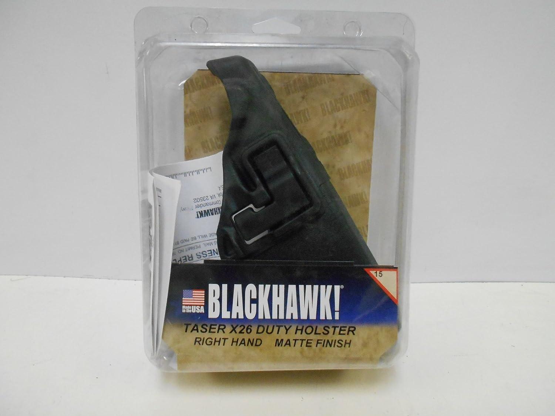 SERPA Taser X-26 Duty Holster Matte Finish Left Hand Free Shipping BLACKHAWK