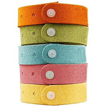 Fakon Best Mosquito Repellent Bracelet 7 Pack  Natural Deet Free Insect Bug  Repellent Bands