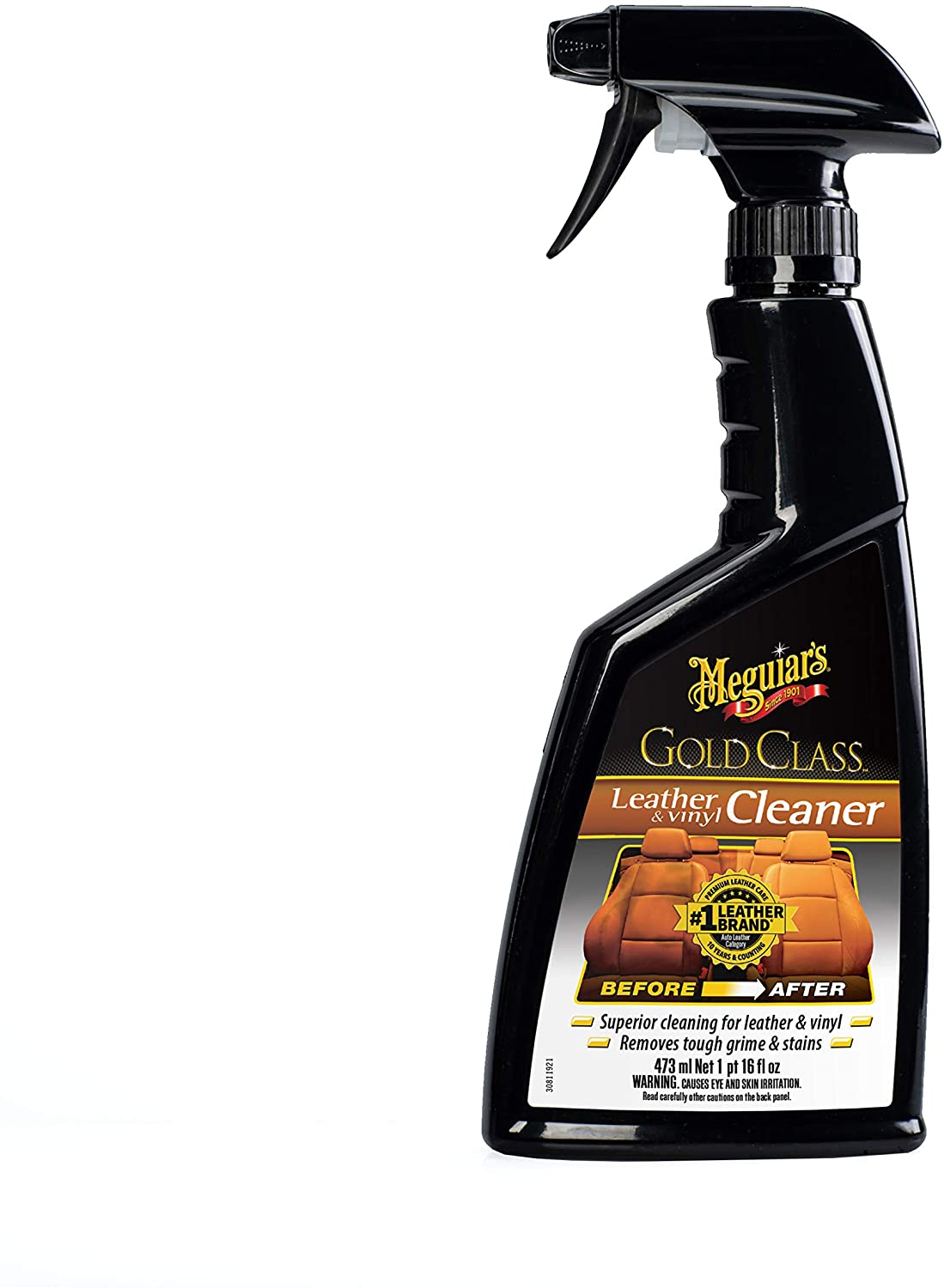 Meguiar's G18516EU Gold Class Leather und Vinyl Cleaner Lederreiniger -