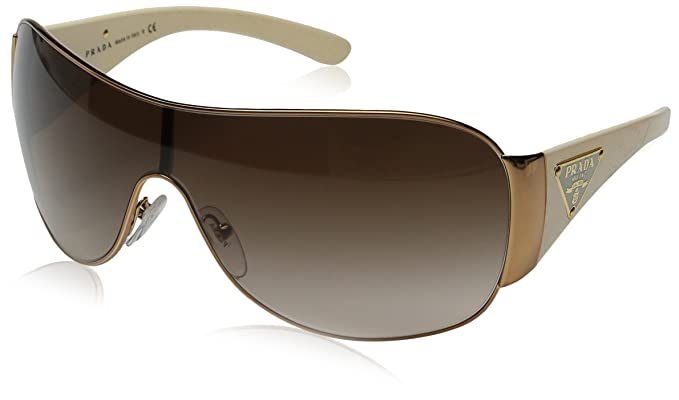 bde63f609f PRADA SUNGLASSES SPR 57L WHITE ZVA-6S1 SPR57L  Amazon.co.uk  Clothing